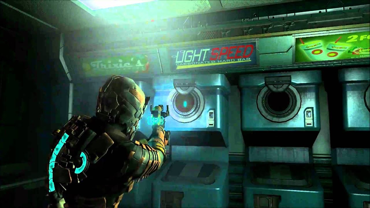 dead space 2 washing machine