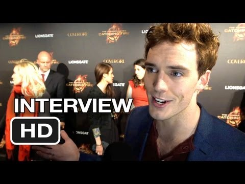 The Hunger Games: Catching Fire Cannes Film Festival Interview - Sam Claflin (2013) HD