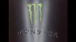 Airbrush monster energy