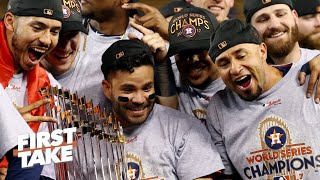 Max Kellerman likes how quickly MLB reacted to the Astros cheating scandal | First Take