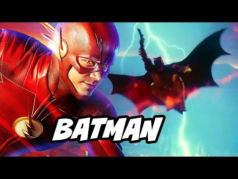 The Flash Every Batman Scene and Justice League DCTV Explained thumbnail