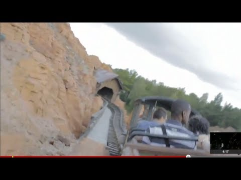 Big Thunder Mountain on-ride. Paris pov (HD DSLR film quality)
