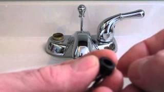 How To Repair A Set Of Leaky 2 Handle Moen Washerless