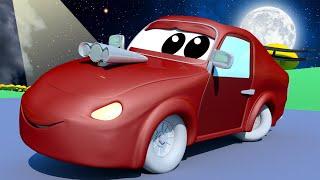 đội xe tuần tra - Jerry nhí của thành phố xe bị sốt xe - Thành phố xe 🚗 những bộ phim hoạt hình về