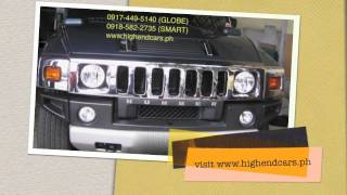 2010 HUMMER H2 LUXURY CHROME PACKAGE PHILIPPINES WWW.HIGHENDCARS.PH