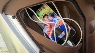 Xe.Tinhte.vn - Thử tốc độ sạc điện thoại trên Piaggio Medley ABS