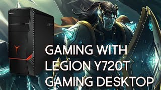 Gaming with Lenovo's Legion Y720T GTX 1070 (League of Legends)