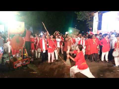 Aarambh dhol at Borivali