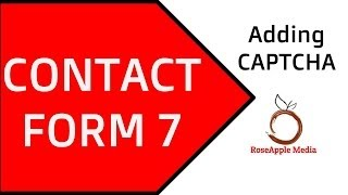 Contact Form 7 Adding CAPTCHA