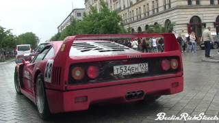 FERRARI F40 - START UPS, REVS, INCREDIBLE IDLE SOUND