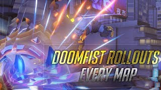 Doomfist Attack Rollouts on Every Map