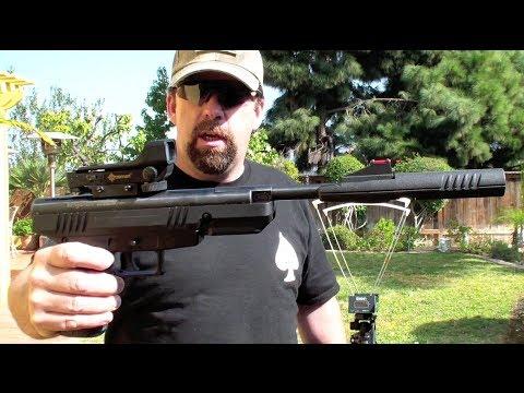 Benjamin Trail NP Air Pistol Chrony Test