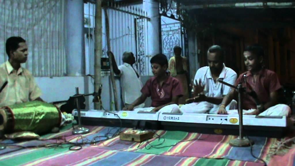 KEYBOARD R.Akash & Prakash NATANAM ADINAR - VASANTHA RAGAA ...