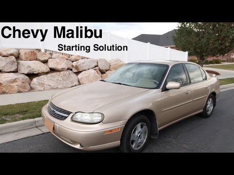 Chevy Malibu Won't Start- Faulty Ignition