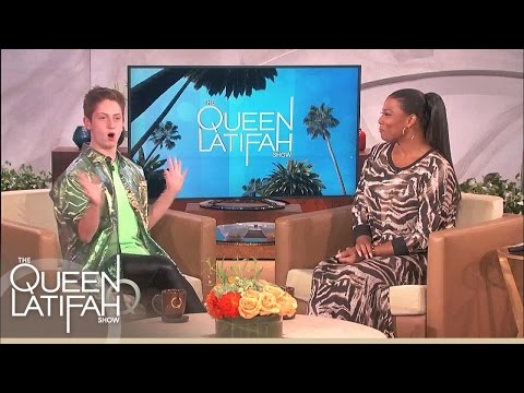 Viral Sensation Brendan Jordan! On The Queen Latifah Show video