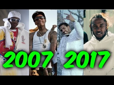Most Popular Rap Songs of The Last 10 Years 20072017