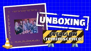 (ENG SUB) [Stone Music+] UNBOXING_EVERGLOW - reminiscenece / K-POP, 에버글로우, DUN DUN