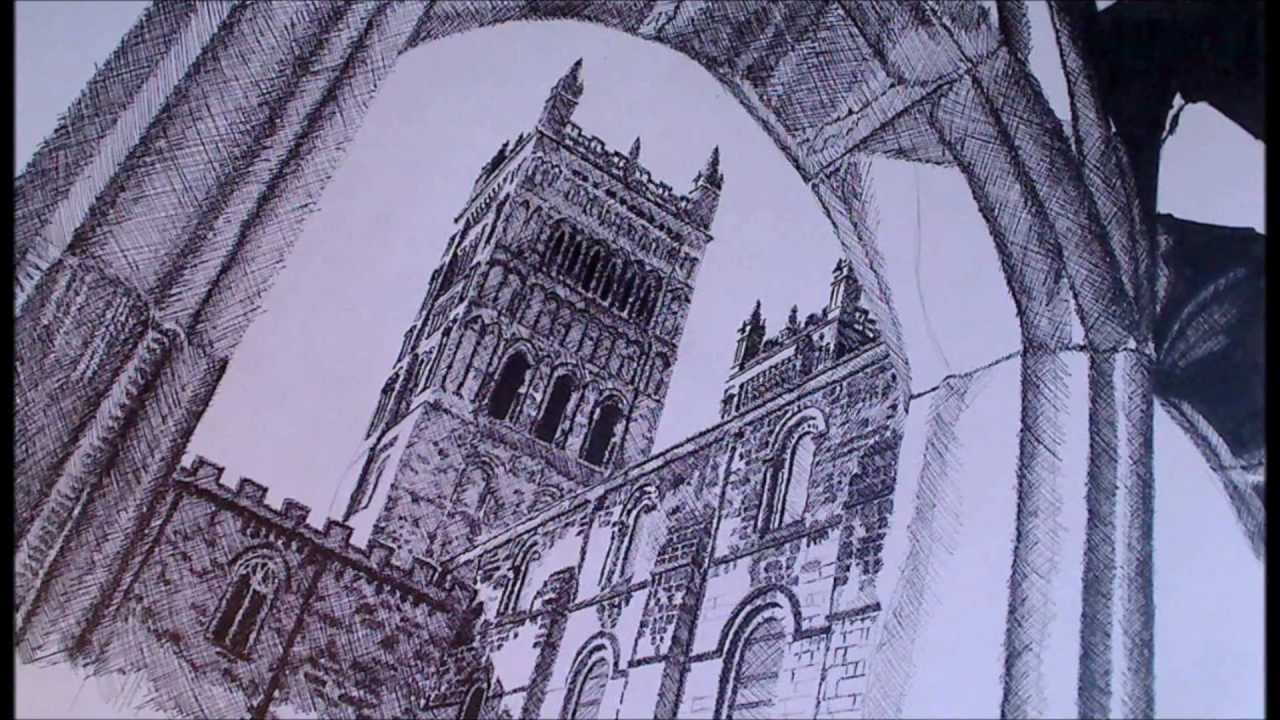 Durham Cathedral Drawings Durham Cathedral Speed Drawing
