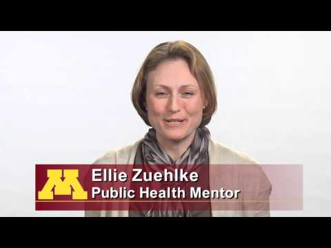 Ellie Zuehlke chose to mentor at Minnesota