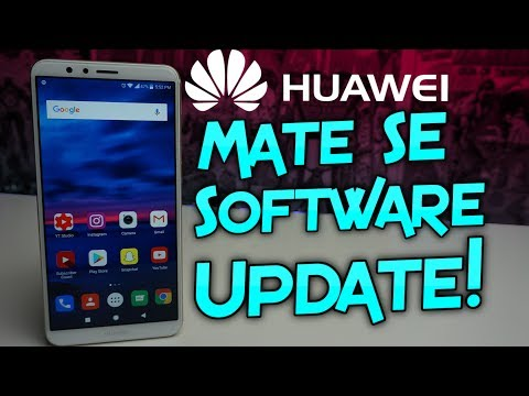 Huawei Mate SE Software Update   March Security Patch