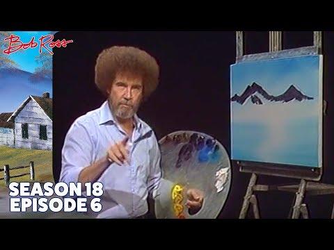Bob Ross - Majestic Peaks (Season 18 Episode 6)