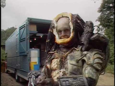 Kevin Peter Hall (The Predator) 'Predator (1987)' Behind The Scenes