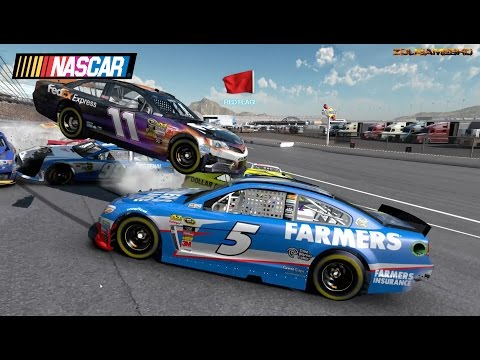Nascar 2013 The Game Longer Extreme Crash Compilation