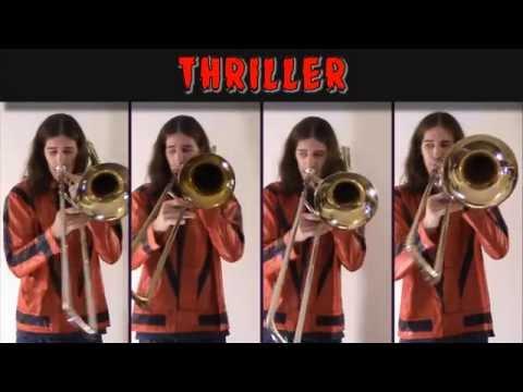Michael Jackson - Thriller: Halloween 2014 Trombone Arrangement video