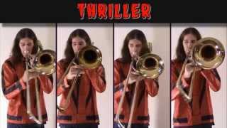 Download Lagu Michael Jackson - Thriller: Halloween 2014 Trombone Arrangement Gratis STAFABAND
