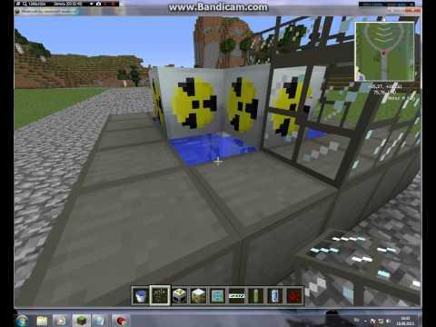 Как сделать безопасный ядерный реактор в minecraft 152