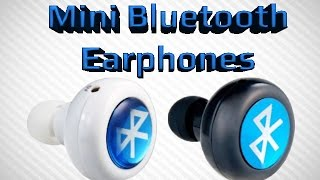 Mini Bluetooth Ear Phones Music and Phone Calls