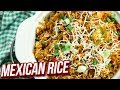 Mexican Rice Recipe - How To Make Mexican Rice - Easy One Pot Meal - Ruchi Bharani