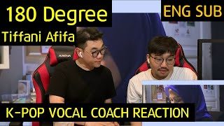 K-pop Vocal Coach reacts to 180도 (180 Degree) - Tiffani Afifa