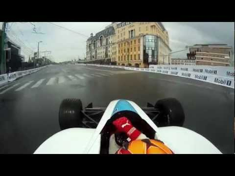 FIA Formula E championship : Onboard video in Moscow
