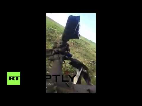 Nagorno Karabakh  Azerbaijani helicopter shot down in fighting with Karabakh forces GRAPHIC