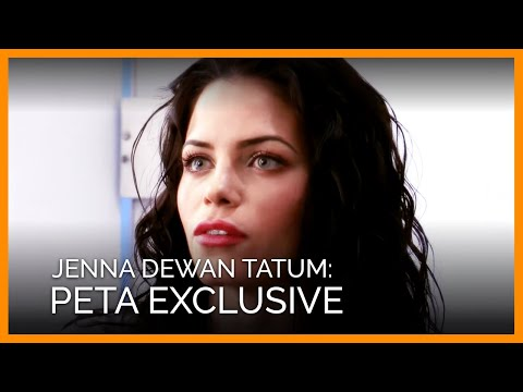 Jenna Dewan Tatum's Exclusive Interview for PETA