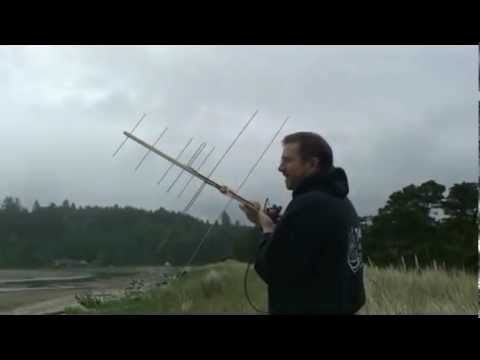 Working FM satellites with a handheld radio and homemade antenna