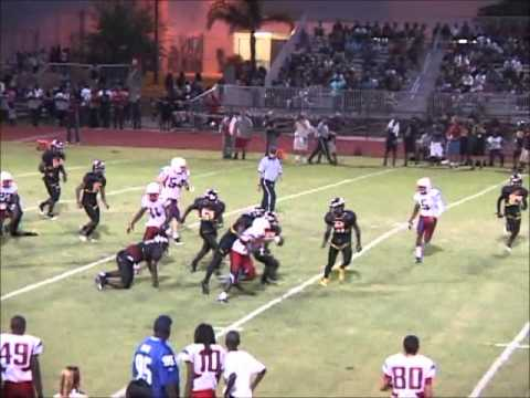 Plantation High School Football Highlights v/s Hallandale High