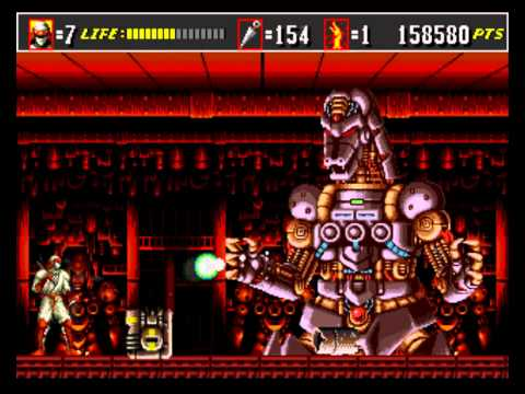 Shinobi III Return of the Ninja SEGA Прохождение Walkthrough