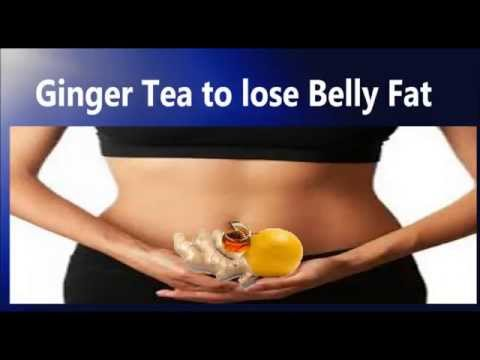Ginger tea to lose belly fat: Naturally boost metabolism by Ginger tea | Weight lose Drink