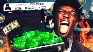 100k FIFA POINTS PACK OPENING!!!!