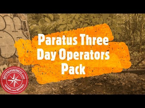 Paratus Three Day Operator's Pack by 3V Gear Review