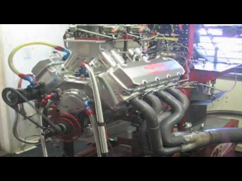 632CI Big Chief Pro Bracket Dyno Pull - Tim Jeffries
