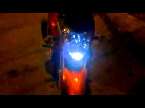 Premium Bixenon H4 25W y LED 5 HighP3 Yamaha Fz16 XENON LED store Chile