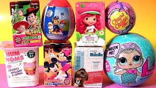 LOL Dolls Mermaids Color Changing Dolls Strawberry Shortcake NUM NOMS Peppa Pig