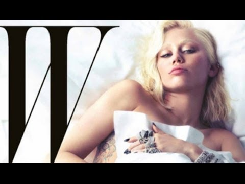 Miley Cyrus 'W Magazine' No Eyebrow Makeup Tutorial