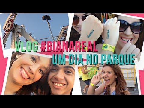 Um dia no parque! - vlog #BiaNaReal
