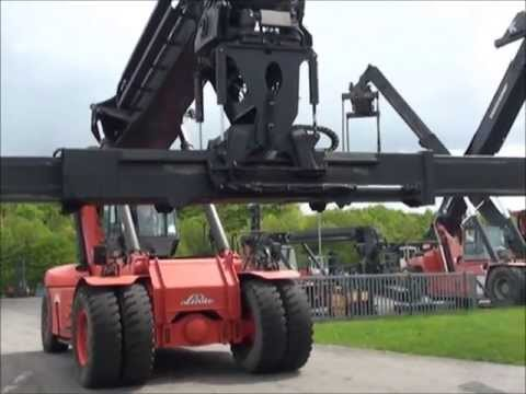 D3269 = 42.500 kg Linde Reachstacker from 2002