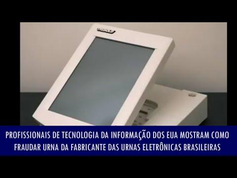 Profissionais de TI dos EUA mostram como fraudar urna fabricante das urnas eletrônicas brasileiras