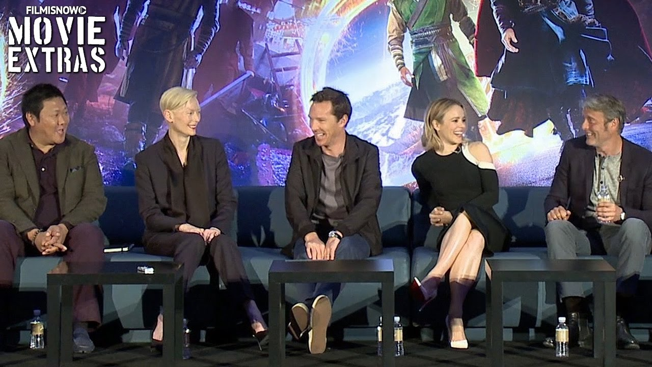 Doctor Strange | complete press conference with cast, director and producers